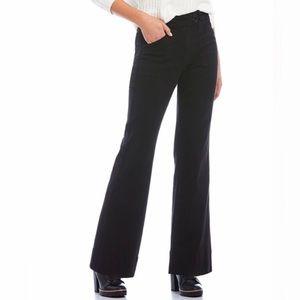Chelsea & Violet Black High Rise Wide Leg Jean